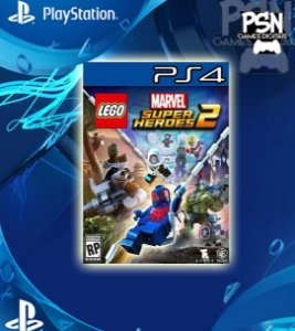 LEGO® Marvel Super Heroes 2 - Psn Ps4 Mídia Digital