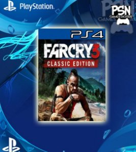 Far Cry® 3 Classic Edition - Psn Ps4 Mídia Digital