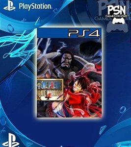 ONE PIECE: PIRATE WARRIORS 4 - PSN PS4 MÍDIA DIGITAL