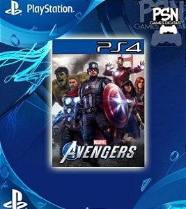 Marvel's Avengers - Psn Ps4 Mídia Digital