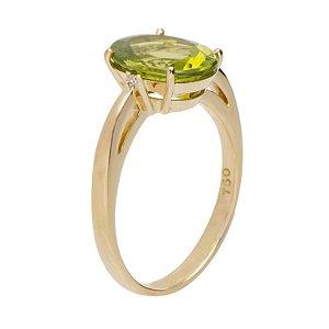 Anel - Peridoto - Ouro 18k