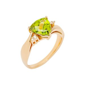 Anel de Ouro - Peridoto - Pedra Preciosa - Sensacional