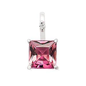 Pingente - Turmalina Rosa - Ouro 18k