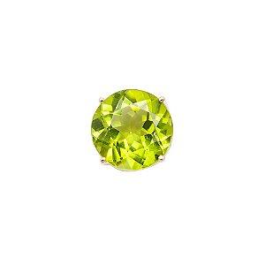 Pingente Ouro 18k - Peridoto - Ponto de Luz - Pedra Preciosa