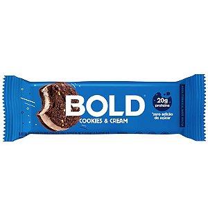 Barra de Proteína Bold Bar - Cookies & Cream (unidade)