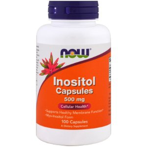 Inositol 500mb - 100 Capsulas Gelatinosas