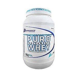 Puro Performance Whey Natural - 900g