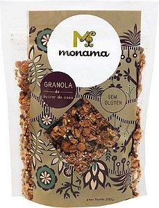 Granola Nuts e Cacau Nibs com Açúcar de Coco 200g - Monama