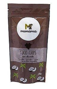 Coco Chips com Chocolate 20g - Monama