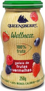 Geleia 100% Frutas SABORES  250g - Queensberry