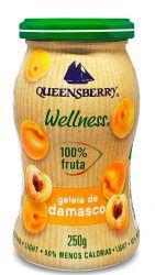 Geleia 100% Frutas SABORES  250g - Queensberry
