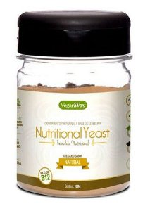 Levedura Nutritional Yeast Sabor Natural 100g - VeganWay