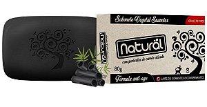 Sabonete Carvão Ativado 80g - Orgânico Natural