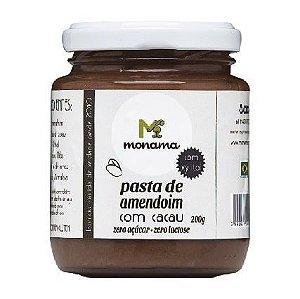 Pasta de Amendoim com Cacau, Xylitol e Proteína 200g - Monama