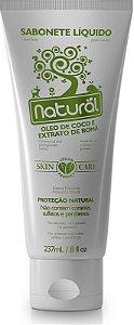 Sabonete Líquido Natural com Óleo de Coco e Extrato de Romã 237mL - Orgânico Natural