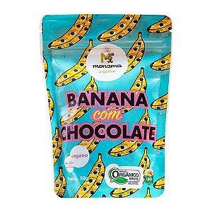 Banana com Chocolate 77% Cacau 50g - Monama