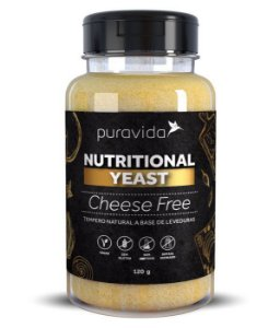 Nutritional Yeast Sabor Cheese Free  120g - Pura Vida