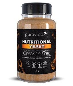 Nutritional Yeast Sabor Chicken Free  120g - Pura Vida