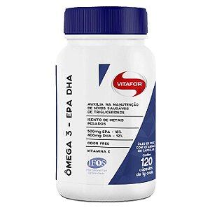 Ômega 3 EPA DHA 120 capsulas - Vitafor