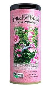 Chá Tribal Hibiscus Lime - Lata 60g