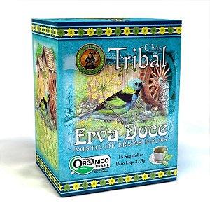 Chá  Misto Orgânico  De Erva Doce, Misto de ervas finas - Tribal 22,5g