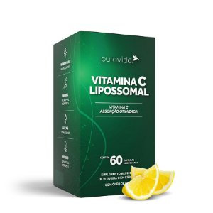 Vitamina C Lipossomal (60 Cápsulas) - Pura Vida
