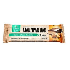 Marzipan Bar -  Barra Vegana de Amêndoas - unidade