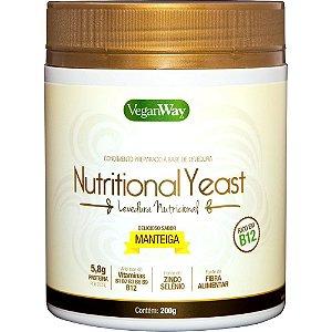 Levedura Nutricional sabor Manteiga 200g