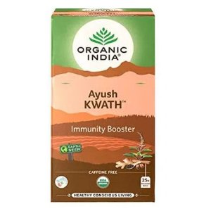 Chá Tulsi Ayush Kwath Immunity Booster-  Organic India