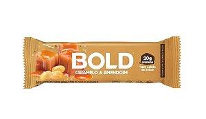Barra de proteína BOLD BAR –  Caramelo e amendoim  20g