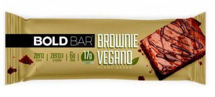 Barra de Proteína Bold Bar  - Brownie Vegano - unid