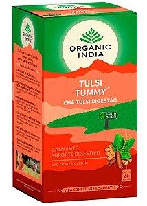 Chá Tulsi Digestão (Tummy) - Organic India 25 saches