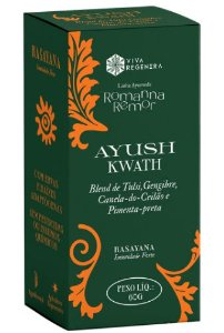 Ayush Kwath - Viva Regenera Linha Ayurveda Romanna Remor