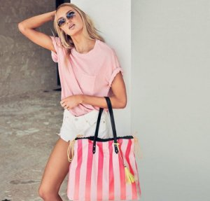Bolsa Shopper Listrada Victoria's Secret