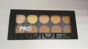 Paleta de Contorno BH Cosmetics - 10 Cores