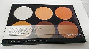 Paleta de Contorno e Blush 2 BH Cosmetics - 6 Cores