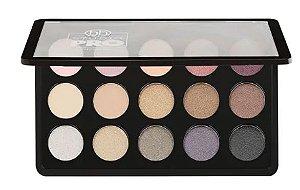 Paleta de Sombras Dual Pro Dual Effect Titanium - BH Cosmetics - 15 Cores