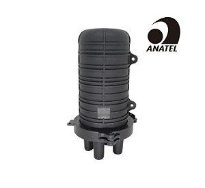 Caixa de Emenda de Fibra Óptica 12FO - SVT (Pequena)