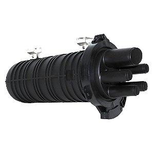 Caixa de Emenda de Fibra Óptica 36FO - SVT (Grande)
