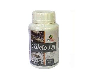 Cálcio + Vitamina D3 500mg 60 Cápsulas