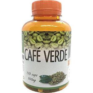 Seca Barriga Café Verde Super Concentrado 120 Cps 500mg