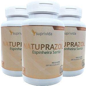 Espinheira Santa Natuprazol Gastrite 500mg (kit 3 unidades)