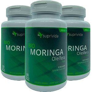 Moringa Oleifera Pura Suprivida 500mg (kit 3 unidades)