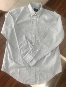 ecef56f1b92d Camisa manga longa Abercrombie masculina tamanho M