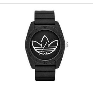 86f89bc4512 Relogio Adidas Unissex ADH 3189 pulseira de silicone 42mm cor preta