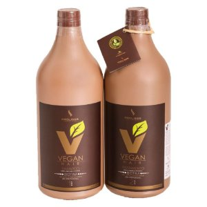 KIT ESCOVA PROGRESSIVA DE BIOTINA VEGAN HAIR 100% VEGANA - 0% FORMOL - KIT 1000ML