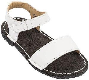 Sandália Infantil Adoleta Branco - Baby