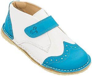 Bota Infantil Bolita Azul/Branco - Baby