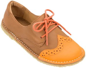 Sapato Infantil Pique-nique Laranja/Caramelo - Kids