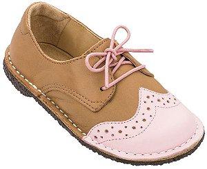 Sapato Infantil Pique-nique Doce/Caramelo - Teen